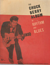 CHUCK BERRY Album Of Rhythm & Blues    UK 1950s Music Book