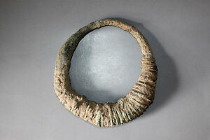 Beautiful & Rare Khmer Bronze With Openwork Spiral Form Don't Miss