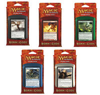 5 x Intro Pack (Complete Set) Born of the Gods MTG | + Each contains 2 boosters!