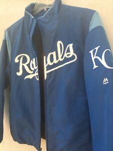 Kansas City Royals 2017 On Field Therma Base Premier Dugout Jacket Size medium