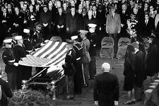 New 5x7 Photo: Honor Guard Folds Flag over Casket of President John F. Kennedy