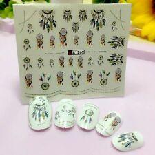 Nail Art Sticker Water Decals Transfers Mystical Dreamcatchers (A-1262)