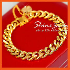 Unbranded Chain Yellow Gold Filled 14k Fashion Bracelets