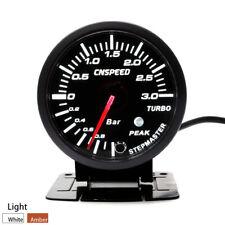 3 bar Turbo Diesel 52 mm Visage Noir mécanique Boost Jauge de pression-TDI TD DT
