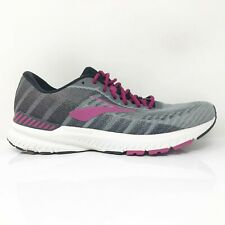New listing Brooks Womens Ravenna 10 1202861B006 Gray Running Shoes Lace Up Low Top Size 9 B