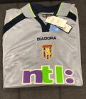 Original BNWT JLLOYD SAMUEL 31 Aston Villa 2001/02 Away Football Shirt UEFA Cup!