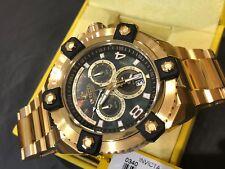 0340 Invicta Reserve GrandOctane Swiss Quartz Chronograph 56mm SS Bracelet Watch