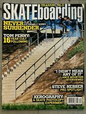 Transworld Skateboarding Magazine December 2009 Tom Penny Lance Mountain & more!