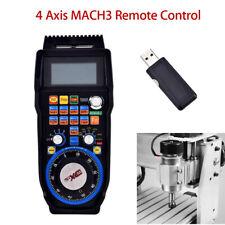 WHB04B CNC MACH3 Wireless Electronic Handwheel 4-Axis Manual Control Fr carving
