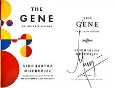 Siddhartha Mukherjee~SIGNED~The Gene~1st/1st + Photos!!