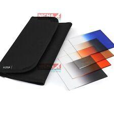 4pcs Color Conversion Gradual blue/brown/grey/orange Filter Kit set for Cokin P