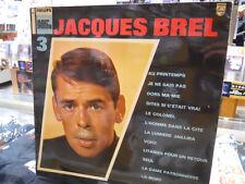 JACQUES BREL NO. 3 LP VG++ 77862 PHILLIPS FRECH