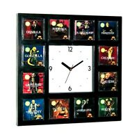 12 Aurora Movie Monster 1972 Model kits set Clock