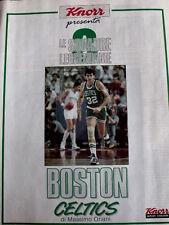 Basket - Le squadre leggendarie BOSTON CELTICS - inserto
