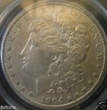 VERY NICE Select CHOICE 1904-S SILVER MORGAN DOLLAR