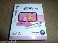Nintendo Ds Lite Paquete De Accesorios De Princesa oficial duraznos! nuevo! Rosa caso Mario