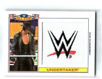 WWE Undertaker 2016 Topps Heritage All-Star Patch Relic Card SN 95 of 299