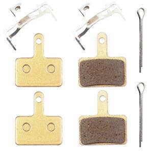 2 pairs- Metal Sintered Disc Brake Pads for Shimano Tektro Orion M315 M355 B01S