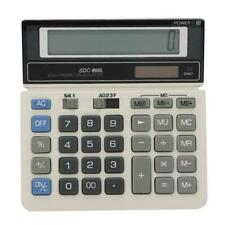 Desktop 12-digit Calculator Solar Electronic Calculator Business Office Supplies