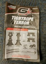 GX Racers Tightrope Terror Instruction Manual Replacement Complete Jakks EUC