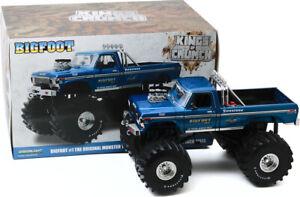 Greenlight 1:18 Kings of Crunch Bigfoot #1 1974 Ford F-250 Monster Truck 13541