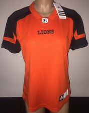 Adidas BC LIONS Home CFL Official Licensed Women's Jersey M
