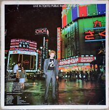 """Vinyl 12"""", 45 RPM Public Image Limited PIL - Live in Tokyo (2 LP) - 1983"""