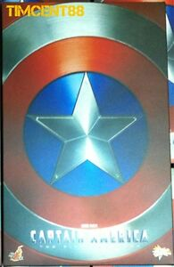 Hot Toys MMS156 Captain America The First Avenger Chris Evans 1/6 Figure New