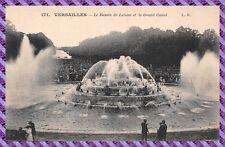 Tarjeta Postal - Versailles - el lago de latona y el gran canal
