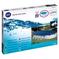 Cubierta de invierno para piscina Gre ovalada Premium