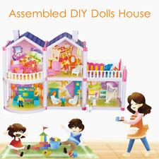 DIY Handcraft Dream House Dollhouse Furniture Playhouse Maniature Girls Gifts