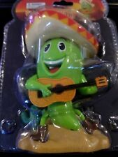 Solar Power Dancing Toys Green Chili Novelty Toy Solar Dancing Bobble Head Toys