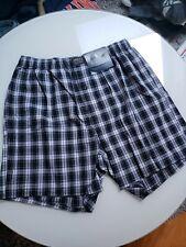 New Polo Ralph Lauren Men's Classic Fit Cotton Boxers Medium Black Checkered