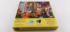 "SunsOut ""Stitched With Love"" 1000 Piece Jigsaw Puzzle Joseph Burgess"