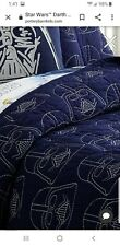 Pottery Barn Kids Navy Darth Vader Quilt Full/Queen Comforter