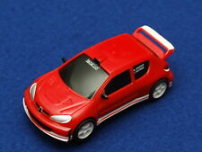 Carrera GO!!! 1/43 Peugeot 206 Rally Car in Red - Good Used Condition