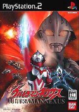 Used PS2 Ultraman Nexus Japan Import (Free Shipping)