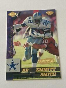 Emmitt Smith 1999 Collector's Edge Advantage Gold Ingot Parallel Card #44