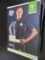 72671 Oliver Mutschler VFL Wolfsburg 16-17 original signierte Autogrammkarte