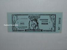 PLASMATICS 1981 Concert Ticket SEATTLE SHOWBOX THEATRE Wendy O. Williams RARE
