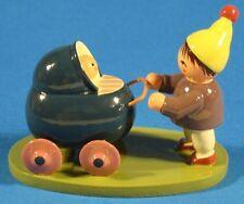 Boy Stroller German Figurine FGK501X20