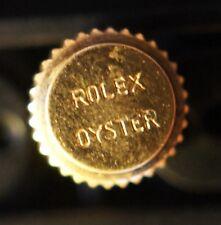 Genuine Rolex 5.3mm Oyster 14K Gold Bubbleback Watch Crown 1950's 18K Part