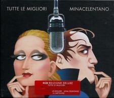 """MINA CELENTANO """"TUTTE LE MIGLIORI""""  box 4 cd deluxe edition sealed"""