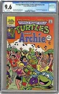 Teenage Mutant Ninja Turtles Meet Archie 1A CGC 9.6 1991 3807119012