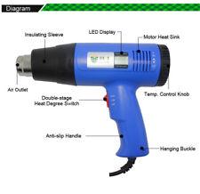 Best 8016 1600w Handheld Hot Air Electronic Heat Gun Rework Station 220v Black