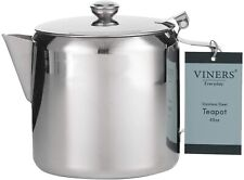 New Viners Everyday Teapot Tea pot Stainless Steel 48 oz 1.5L 0302.195