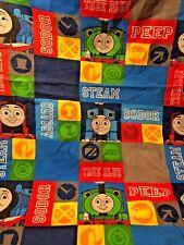 "Thomas The Train Tank Engine & Friends Sodor Toddler Bed Flat Sheet 45"" x 58"""