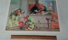 Political Cartoon Prints By Lloyd 1st. Edition Monkey Business Stapco NY. 5 Pcs.