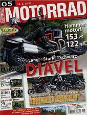 8326U Motorrad 2011 5/11 GSX-R 750 MV Agusta F3 Ducati Diavel Piaggio MP3 Yamaha