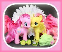 ❤️My Little Pony MLP Brushable Crystal Sparkle Bath Fluttershy Pinkie Pie G4❤️